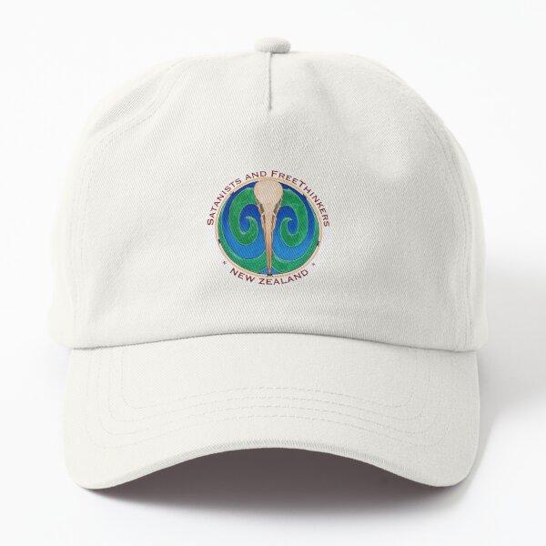 SaFT White Round Small Logo Dad Hat