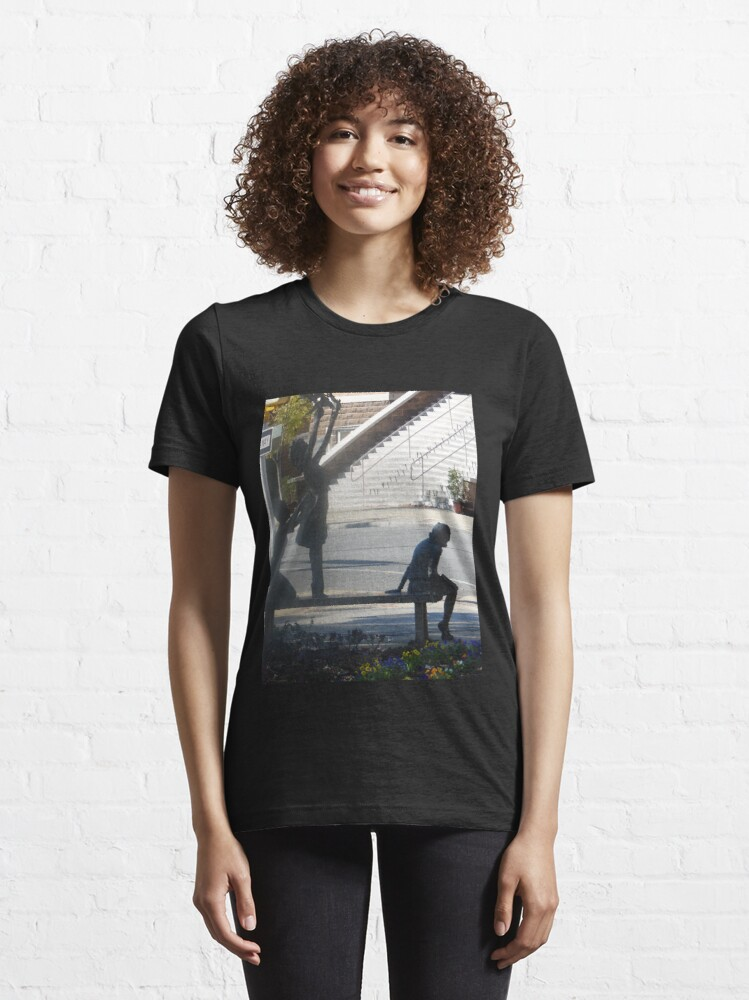 Alternate view of CRM - 4 Little Girls Essential T-Shirt