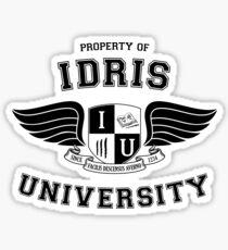 Shadowhunters - Idris University Sticker