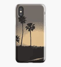 Pixel Sunset iPhone Case