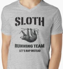Sloth Running Team. Let's Nap Instead T-Shirt