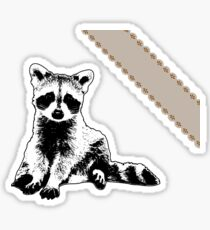 Raccoon - Critter Love Collection 6 of 6 Sticker