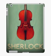 Sherlock Violin iPad Case/Skin