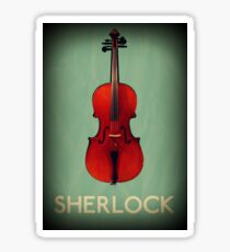 Sherlock Violin Sticker