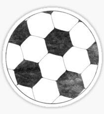 Vintage football - topleft Sticker