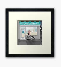 And Two Sausages for Them Framed Print
