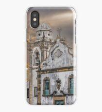 Exterior Facade Antique Colonial Church Olinda Brazil iPhone Case/Skin