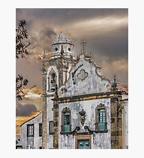 Exterior Facade Antique Colonial Church Olinda Brazil Photographic Print