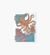 Oktopus-Tanz Galeriedruck