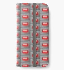 Hit the panic button. iPhone Wallet/Case/Skin