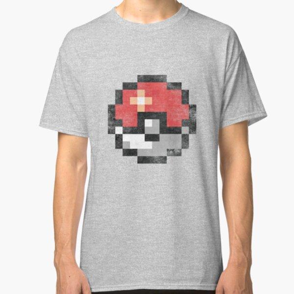 Pokemon Badges T-shirt Homme Ash Go Team Rocket PIKACHU Cadeau Fan idée Couleur