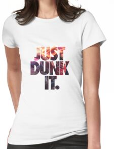 Just dunk it - Darius Dunkmaster  Womens Fitted T-Shirt