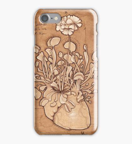 Venus Fly Trap Heart iPhone Case/Skin