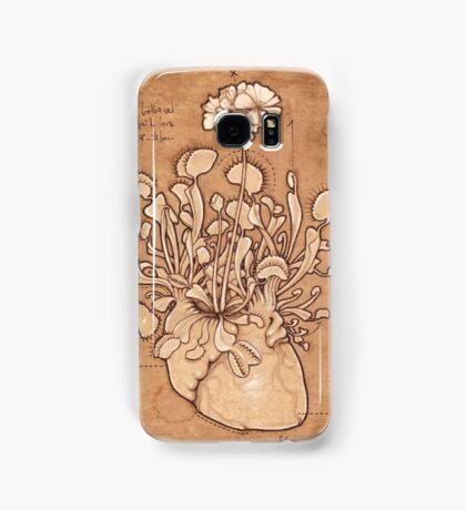 Venus Fly Trap Heart Samsung Galaxy Case/Skin