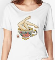 Mark C. Merchant brand illustration Women's Relaxed Fit T-Shirt