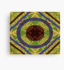 Geometric Ethnic Canvas Print