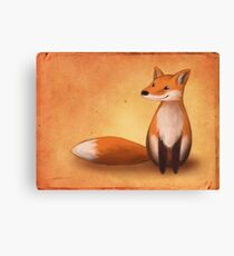 Smiling Fox Canvas Print