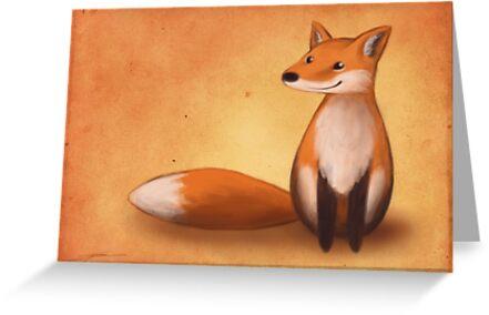 Lächelnder Fuchs von Ine Spee