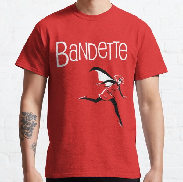 Bandette Red Classic T-Shirt