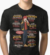 707 Quotes Tri-blend T-Shirt