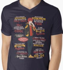 707 Quotes Men's V-Neck T-Shirt
