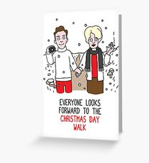 Killer Christmas Cards - Ian Brady and Myra Hindley Greeting Card