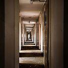 Stripy Corridor - Colour version by Through the Brass Lens
