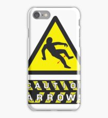 Caution: Arrows iPhone Case/Skin