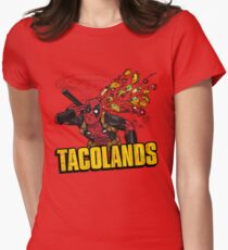 TACOLANDS Womens Fitted T-Shirt