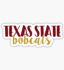 Texas State Bobcats Sticker