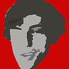 John's Face by MaritaChustak