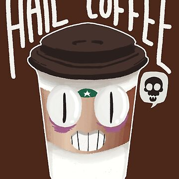 Hail Coffee f/dark background by exeivier