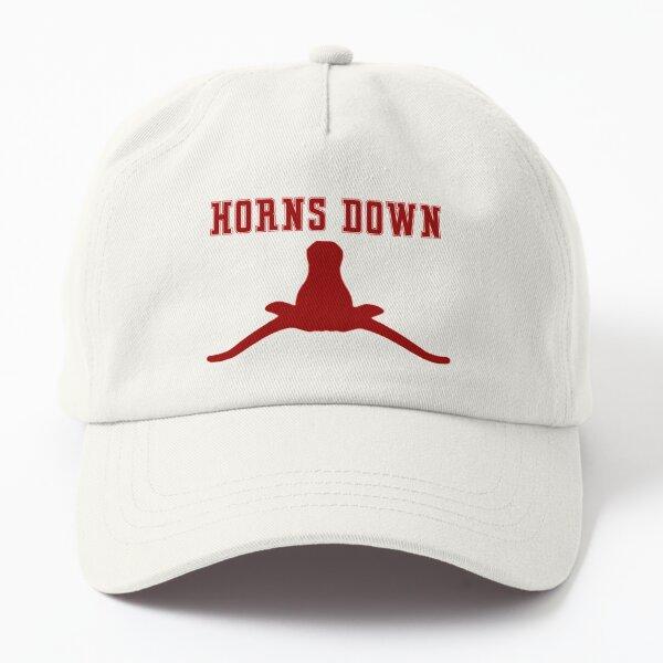 HORNS DOWN Dad Hat