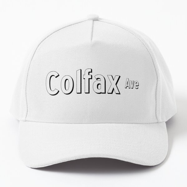 Colfax Ave Street Sign - Dark - Denver Colorado Baseball Cap