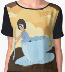 Cup of Tina Women's Chiffon Top