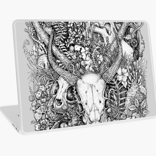 Life's Mystery: Hunter and Prey Laptop Skin