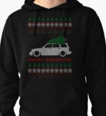 Forester Ugly Christmas Sweater (SF) Pullover Hoodie