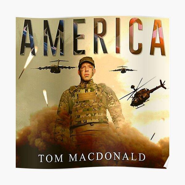 Tom MacDonald America Poster Poster