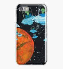 Martians are very Angry iPhone Case/Skin