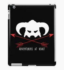 Adventurers at heart iPad Case/Skin