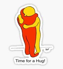 Time for a Hug Sticker