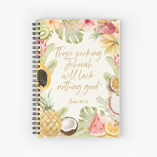 Yeartext 2022 (Tropical Fruits) Spiral Notebook