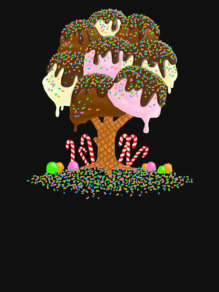 Organic Ice Cream Tree by DOODL