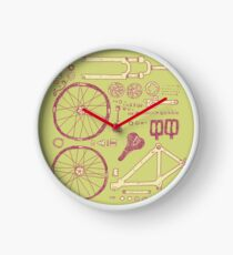 Bicycle Parts Clock