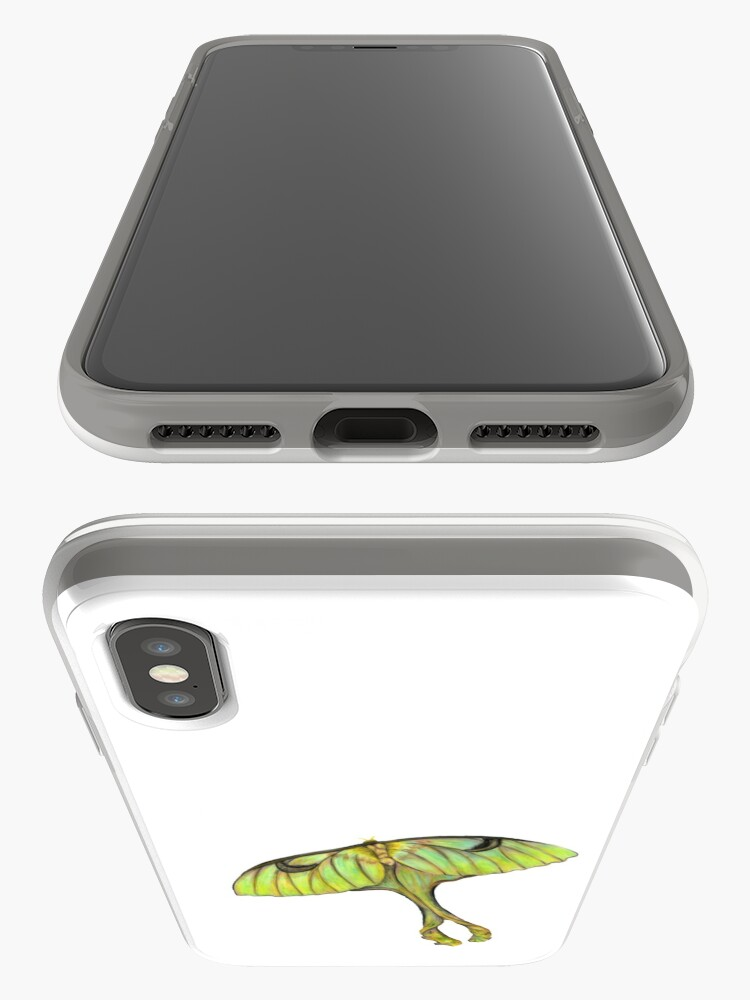 Alternate view of Moon Moth iPhone Case & Cover