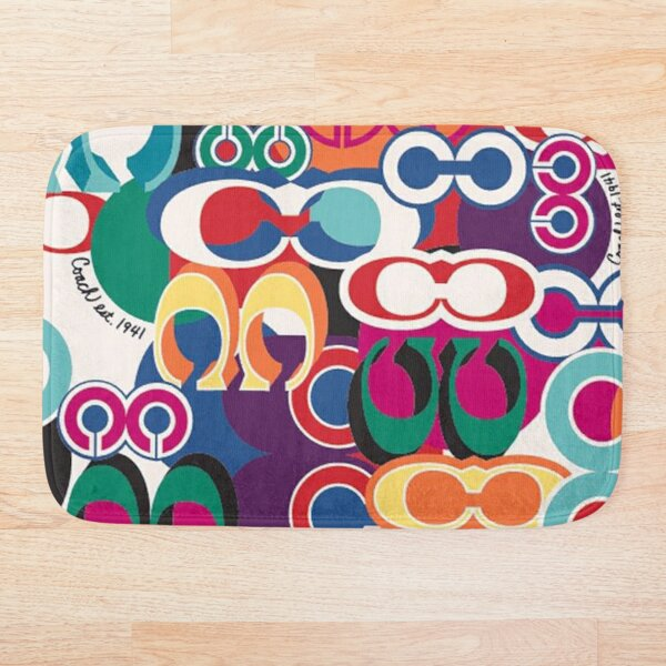 colorfull nice Bath Mat