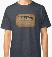 Thompson Submachine Gun. Classic T-Shirt