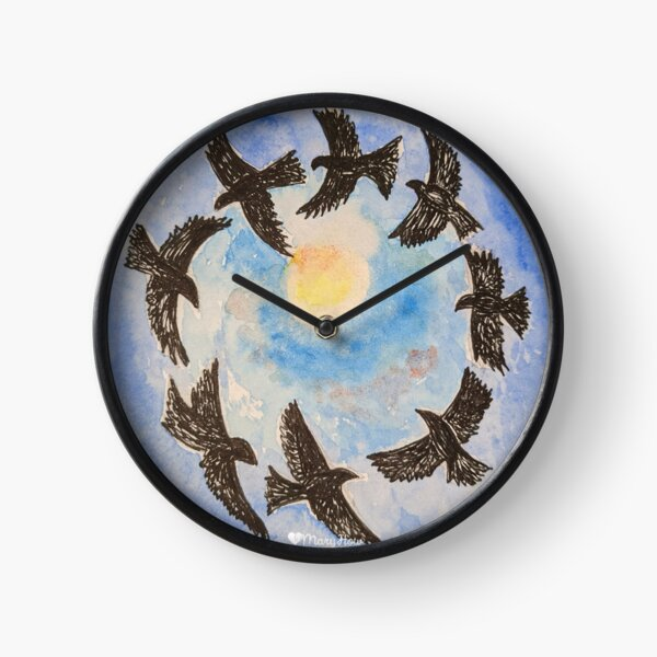 Free to Fly Clock