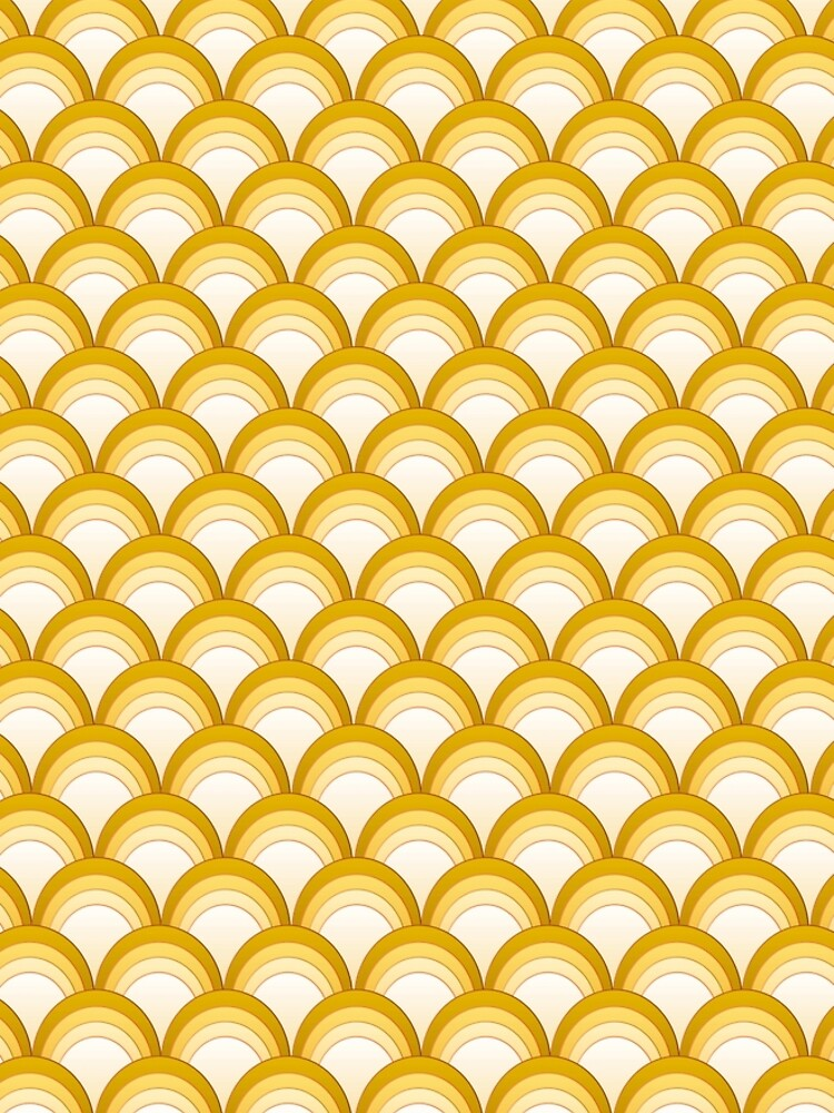 Japanese Waves Ornament 3 by vkdezine