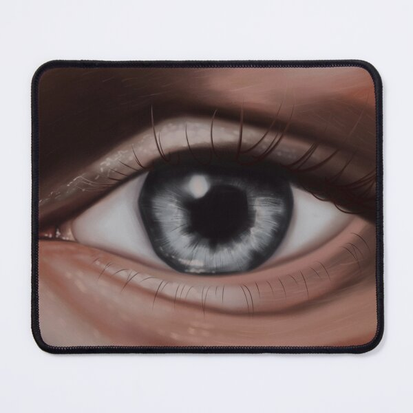 Realistic Eye Mouse Pad